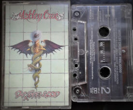 Motley Crue Dr Feelgood Tape Cassette
