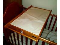 Cot Top Changer / Baby Changing Unit and Changing Mat