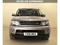LAND ROVER RANGE ROVER SPORT 3.0 TDV6 HSE 5d AUTO 245 BHP + ONLY 1 OWNER + SAT NAV + LEATHERS 2011