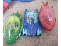 Pj Mask Vehicles