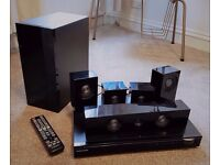 Samsung Home Theatre System- DVD Player and 5.1 Surround Sound Speakers. £99