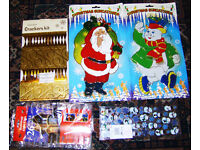 Five Christmas items (decorations) Brand new unopened