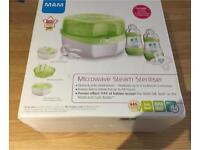 Mam microwave steam baby steriliser