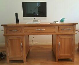 Oak Desk Home Office