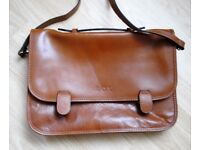 NEW leather briefcase