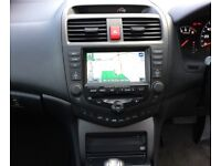 HONDA ACCORD 2.4 I VTEC EX 4DR AUTO *3 MTHS WARRANTY *SATNAV *NEW MOT *ALL AUTO