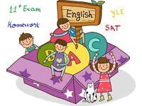 ENGLISH LANGUAGE TUTOR 11+ /SAT/Homework