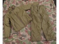 British Army Cold Weather PCS Thermal Suit (Smock & Trousers) Large (new)