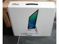 Apple iMac 21inch desktop computer. Unused and boxed.