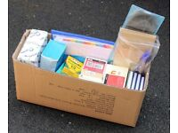 Box of Stationary Items