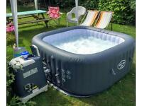 lay z spa hawaii hydrojet pro hot tub spa jacuzzi