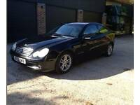 Mercedes c200 coupe auto