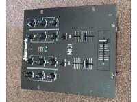 Numark M101 2 channel Mixer