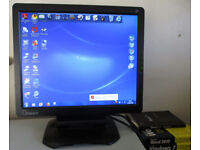 """Optiquest Q7 VS10807 17"""" LCD Monitor with Stand - VGC"""