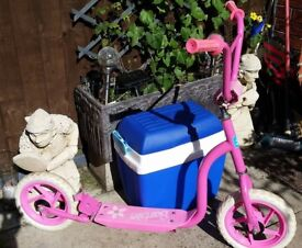 Barbie Scooter with rear brake.