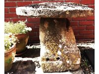 Staddle Stone with original bolt holes   Antique   Granite - Local delivery