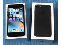 iPhone 7 128gb Matt Black Boxed For Sale Open To All Networks