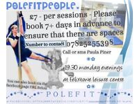 Pole dance fitness tuition