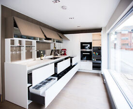 Ernestomeda Emetrica Kitchen ex-display with Miele appliances, Corian worktop