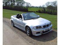 BMW E46 M3 Convertible. (Long MOT, Recent SMG gearbox Overhaul)