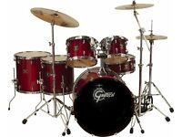 Drumkit Gretsch Catalina Maple 6 piece drum kit, cherry red colour