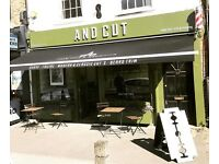 Full and part time barbers wanted to work at Wandsworth common.