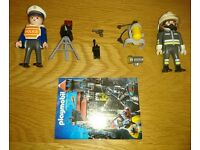Playmobil Special Sets 4608 Fireman And 4900 Radar Patrol As New Condition