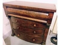 Edwardian chest of drawers. Antique/retro.