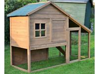 Extra Large Rabbit Hutch 7 feet RRP £300
