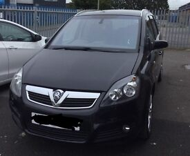 Vauxhall Zafira, 07 plate, Diesel
