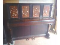 Rare John Broadwood & Sons LONDON Upright Piano Can Deliver