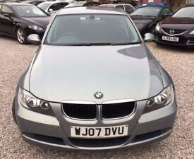 2007 BMW 3 SERIES 2.0 320d ES 4dr,Saloon/,2 Owner/Mot 05/06/2018/Full service history/PH 07459871313