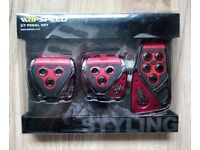 Ripspeed GT Alloy Universal Pedal Set