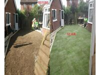 TURF AVAILABLE IN STOCK READY SUPPLY & LAY SERVICE GROUND STRIP AND LEVELING DIGGER HIRE NORFOLK