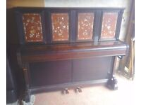 Rare John Broadwood & Sons LONDON Upright Piano - LOCAL FREE DELIVERY