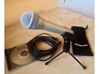 Samson Q1U Dynamic USB Mic Microphone
