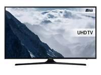 """Samsung Ue40ku6470 40"""" smart ultra HD led free view tv."""