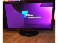 """50"""" PANASONIC TV FREEVIEW HDMI FULL HD CAN DELIVER."""