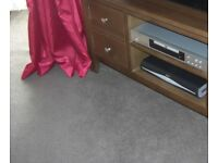 REDUCED TO £50 from £99! Large Nearly New Carpet plus undelay - 4m x 4.25m Mink/dark beige £99 ono