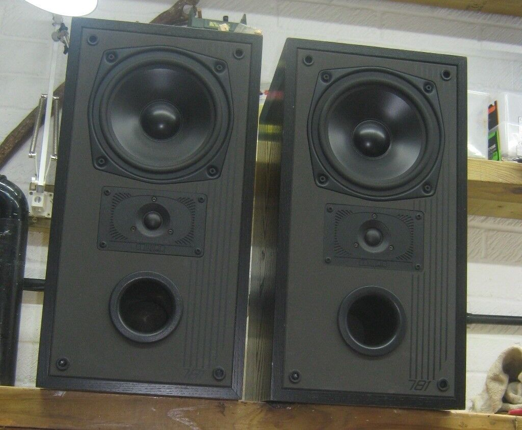 Mission 781 HiFi Speakers, Bi Wireable in good working condition