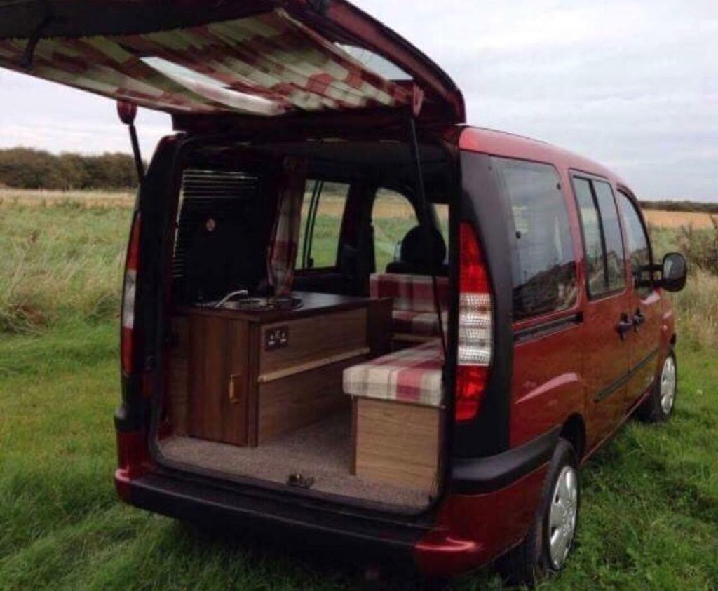 Camper Van Mini Motor Home Conversion Fiat Doblo