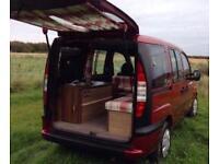Camper van / mini motor home conversion Fiat Doblo
