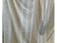 single curtain, 150cm width x 210cm length. In excellent clean condition.