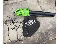 Used The Handy' Leaf Blower / Vacuum / Shredder - Powerful