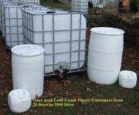 Plastic Barrels & Other High quality Recycled Containers