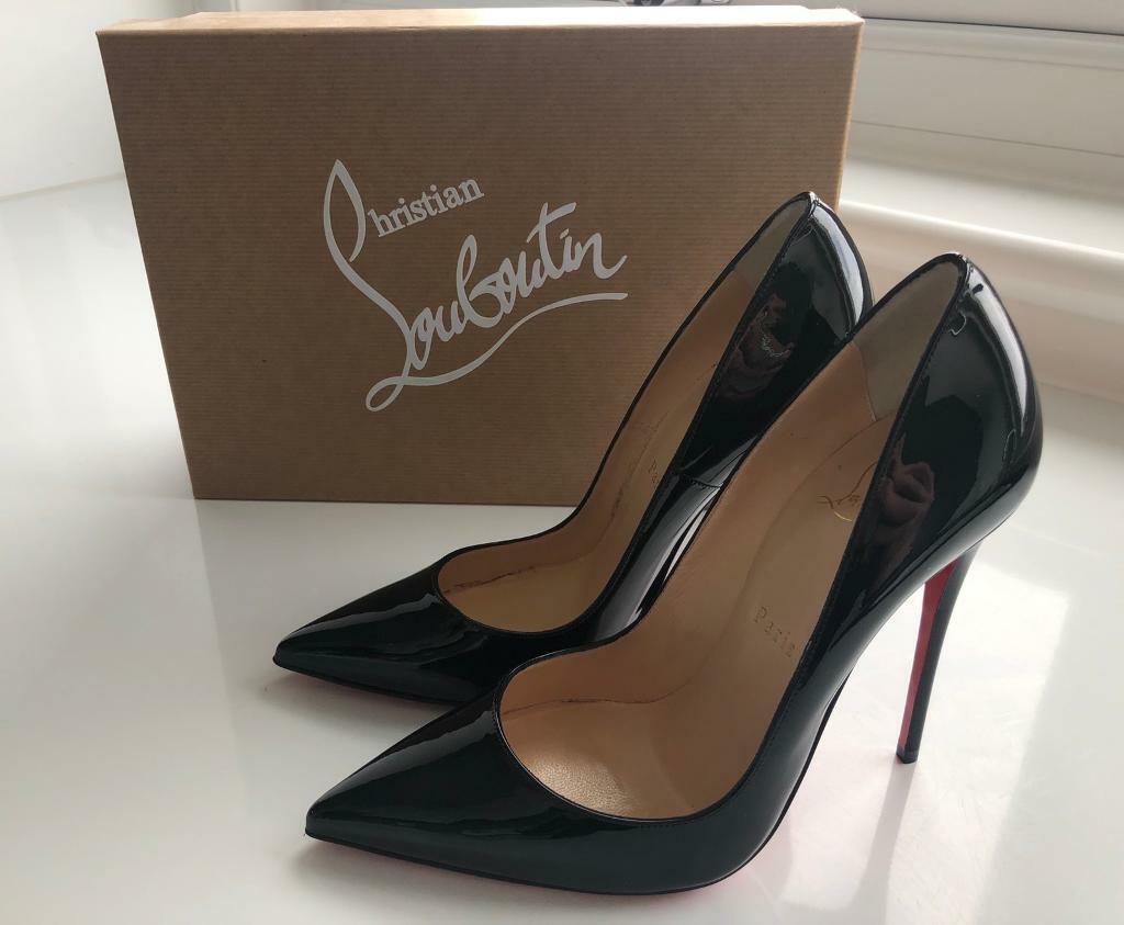 8c9d407102 Christian Louboutin So Kate 120 Black Patent - Size 37.5 BNIB - 100% Genuine