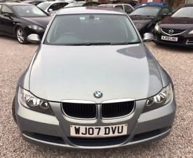 2007 BMW 3 SERIES 2.0 320d ES 4dr Saloon 2 Owner Full service history HPI CLEAR.
