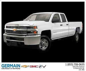 2016 CHEVROLET SILVERADO 2500 HD 4WD DOUBLE CAB