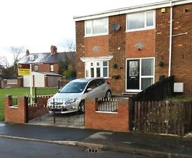 Two bedroom gable end terraced house for sale ( Freehold)