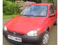 VAUXHALL CORSA TRIP 1997 SPECIAL EDITION - CHEAP RELIABLE RUNAROUND